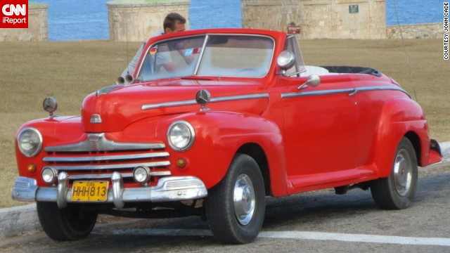 <a href='http://ireport.cnn.com/docs/DOC-1075316'>John Cade</a> of London, Ontario, vacationed in Havana last year for a week and said the vintage cars were worth the trip alone.
