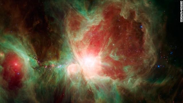 Espectacular imagen de la Nebulosa de Orión captada por el telescopio Spitzer