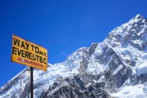 Octubre: Sube al campamento base del Monte Everest