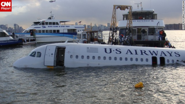"""""""The passengers owe our lives to the remarkable work of the pilot and co-pilot,"""" Stevenson said."""