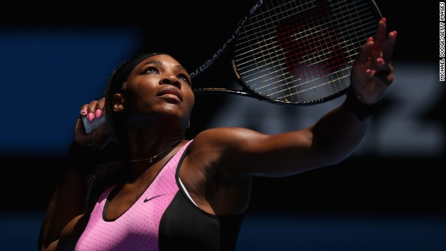 Serena Williams looked in complete control during her straight-sets win over Vesna Dolonc on Wednesday, but the top seed admitted to waking up in the middle of the night due to fears over dehydration.