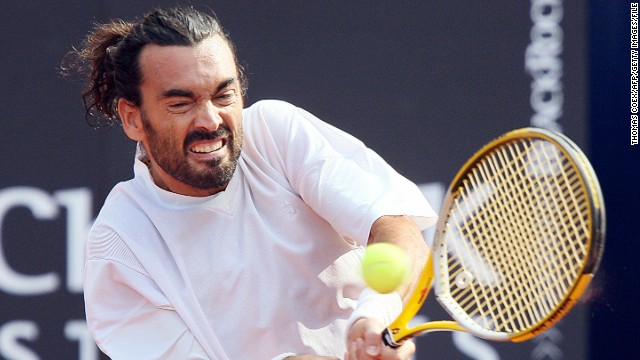 Spain's two-time French Open winner Sergi Bruguera began his partnership with France's Richard Gasquet in February.