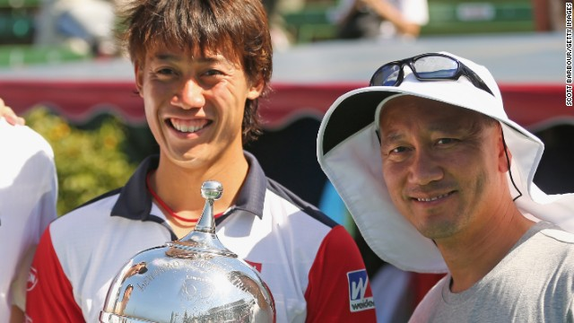 Nishikori's career has gone to another level since he started working with Michael Chang, who won the French Open as a 17-year-old in 1989, and he cracked the top 10 for the first time in May 2014.