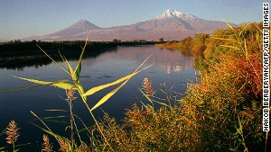 Ararat: mentioned in the Bible, although don\'t use it as a guide book.