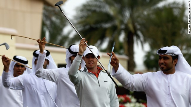 Golfers prepare for Abu Dhabi curtain raiser