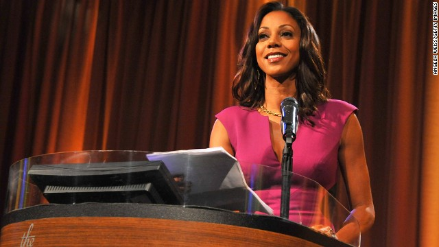 "Actor Holly Robinson-Peete has appeared on television's ""21 Jump Street,"" ""The Talk,"" ""Mike and Molly"" and ""Celebrity Apprentice."" She founded the HollyRod Foundation with her husband, former NFL player Rodney Peete, to raise awareness about Parkinson's disease and autism -- two causes with which her family has had personal experiences. She was born on September 18, 1964."