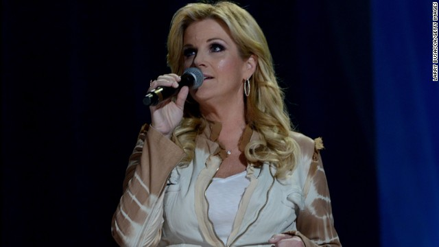 Country music singer and cookbook author Trisha Yearwood was born on September 19, 1964, in Monticello, Georgia. The Grammy award winner and Food Network host currently lives in Oklahoma with her husband, Garth Brooks, and family.