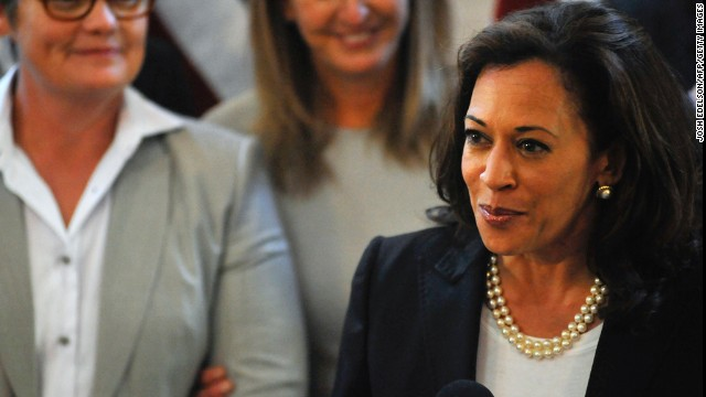 California Attorney General Kamala D. Harris is the first woman, the first African-American, and the first South Asian to hold the office in the state's history. Born in Oakland, California, on Oct. 20, 1964, Harris served two terms as district attorney of San Francisco. She defeated a two-term incumbent when she was elected district attorney in 2003 and was overwhelmingly elected to a second term in November 2007.