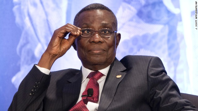 Former President John Atta Mills of the West African nation of Ghana scaled back public appearances and made a medical trip to the United States shortly before he <a href='http://www.cnn.com/2012/07/24/world/africa/ghana-president/index.html'>died in July 2012</a>.