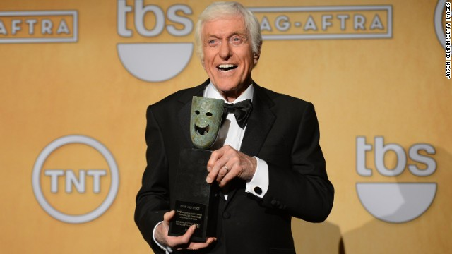 Dick Van Dyke received the 49th annual SAG Life Achievement Award for 2012.
