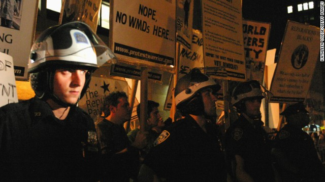 New York to pay $17.9 million to 2004 Republican Convention protesters