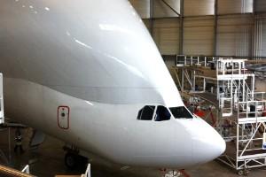 El Frankenstein de los aviones de carga