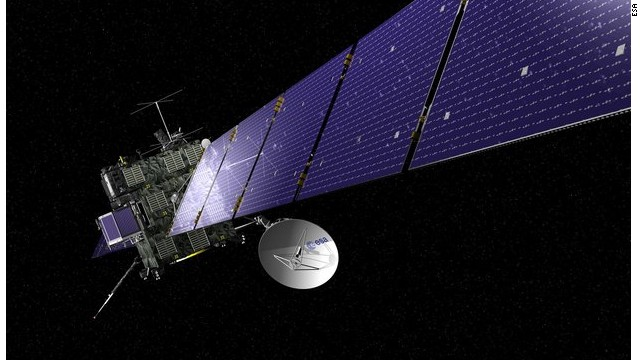 ESA is also leading a mission to chase a comet around the sun and even land on its surface. If successful it should add to our understanding of the origins of the solar system and may shed light on whether Earth was seeded with water.