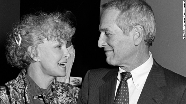 Paul Newman and Joanne Woodward (1985)