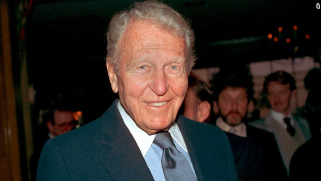Ralph Bellamy (pictured in 1985) received the award for 1983.