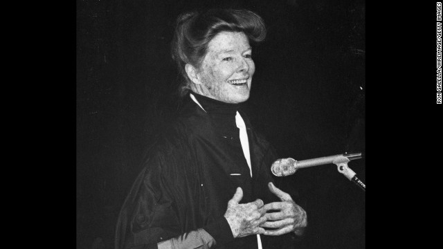 Katharine Hepburn (pictured in 1978) received the award for 1979.