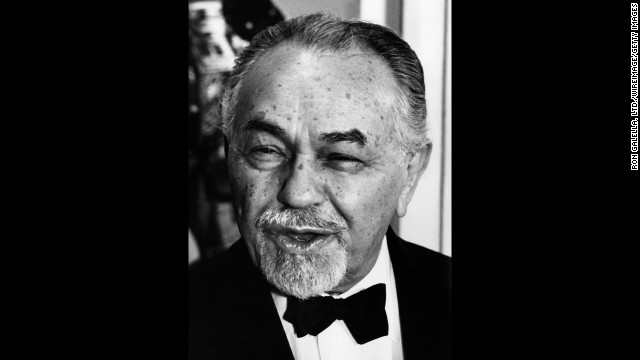 Edward G. Robinson (pictured in 1968) received the award for 1969.