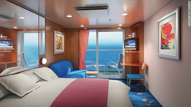 Tickets for the event cost between $899 per person for an interior stateroom and $3,599 for a three bedroom garden villa.