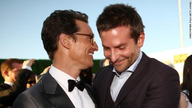 Matthew McConaughey and Bradley Cooper