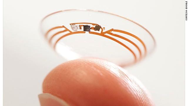 Google hará lentes de contacto inteligentes
