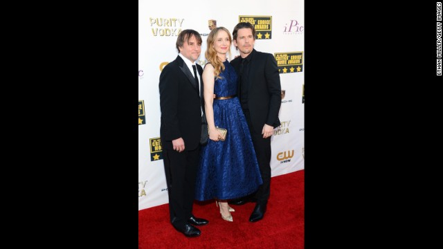 Richard Linklater, Julie Delpy and Ethan Hawke