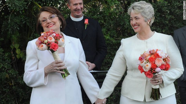 Houston mayor marries longtime partner