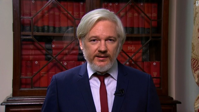 WikiLeaks founder Julian Assange, seen here in January 2014, has been holed up in Ecuador's embassy in London for two years.