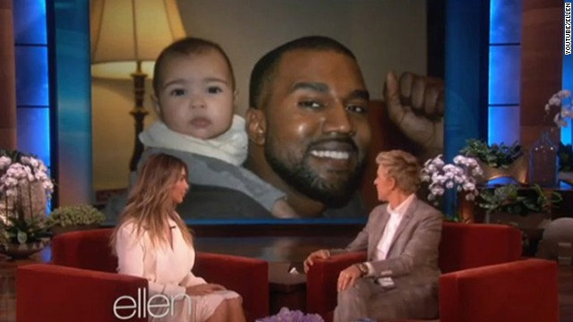 Between Kim and 'Ye, who do you think changes diapers?