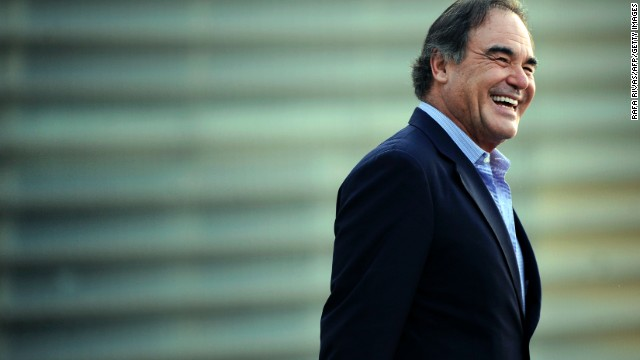 Oliver Stone at the 61st San Sebastian Film Festival n the northern Spanish Basque city of San Sebastian in September 2013.