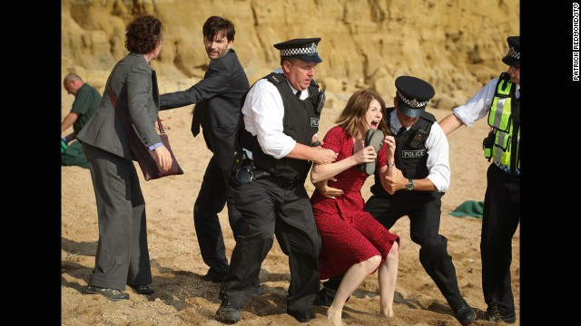 "<strong>""Broadchurch"": </strong>Critics liked this British series, about a child murder, more than most other recent crime shows."