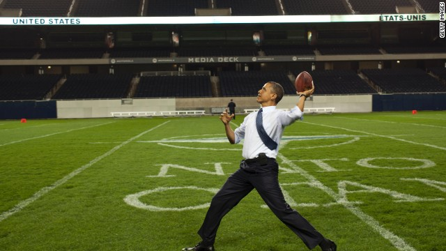 Obama would not let his son play football