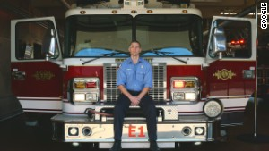 Firefighter Patrick Jackson has developed a Google Glass app to help first responders get dispatch information in an emergency.