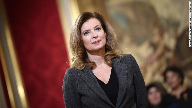 La exprimera dama de Francia viaja a India tras separarse de Hollande