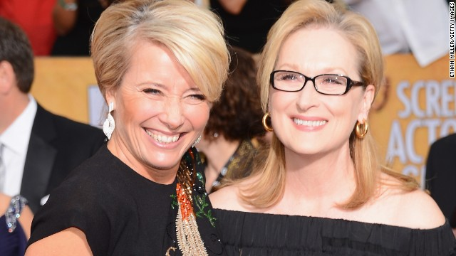Meryl Streep isn't happy about Emma Thompson's Oscar snub