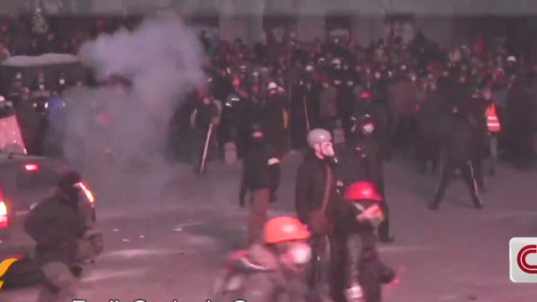 Clashes In The Ukraine Cnn Com Video