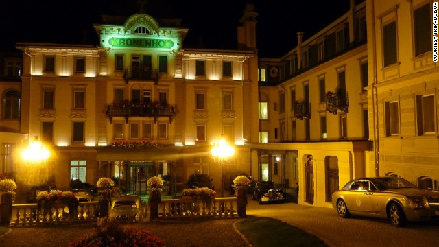 No 1: <a href='http://www.kronenhof.com/en/' target='_blank'>Grand Hotel Kronenhof</a> in Pontresina, Switzerland