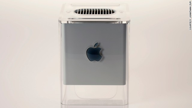 This 2000 computer's boxy design was a throwback to the NeXt device that Steve Jobs worked on during his hiatus from Apple. Designed by Apple's Jony Ive, there's a G4 in New York's Museum of Modern Art.