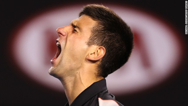 World No. 2 Novak Djokovic has won the season's first grand slam in each of the past three years. But not this year..
