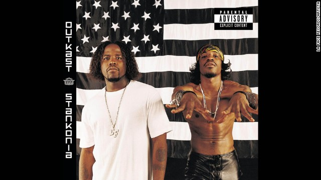 Outkast, seen here on the cover of their