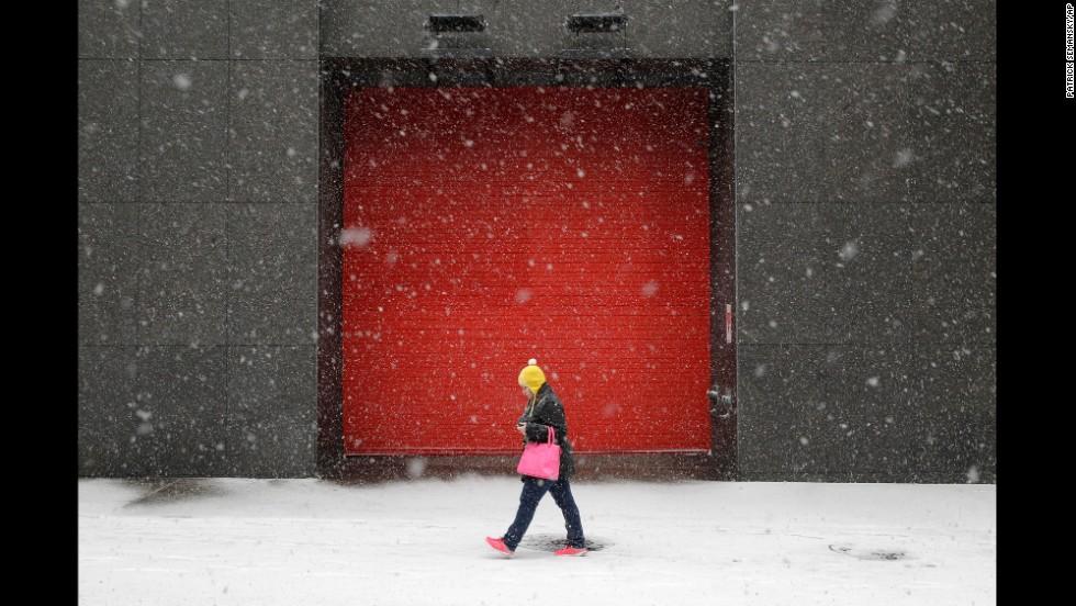 Ola de frío polar azota EE.UU.