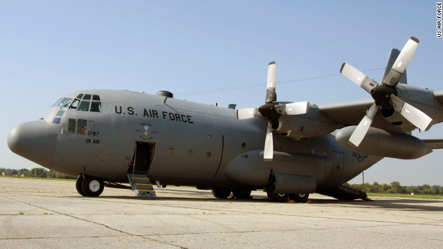 """What happened aboard this C-130E Hercules, code named """"Spare 617,"""" was """"one of the greatest feats of airmanship of the Southeast Asia War,""""<a href='http://www.nationalmuseum.af.mil/factsheets/factsheet.asp?id=18724' target='_blank'> according to the Air Force museum</a>."""