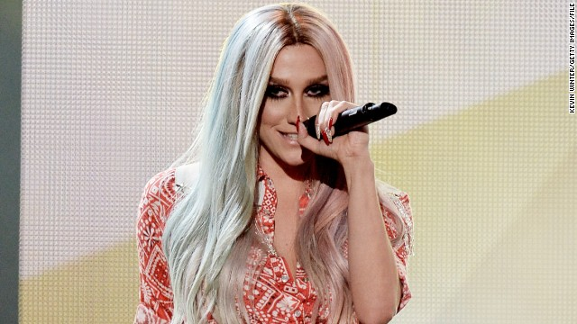 Ke$ha 'overwhelmed to tears' by support