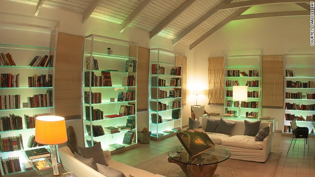 No need to pack books or an iPad thanks to the on-site library at Carlisle Bay.