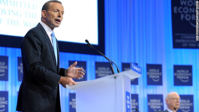 Australian Prime Minister Tony Abbott speaks about the role of his country, which is the current head of G20.