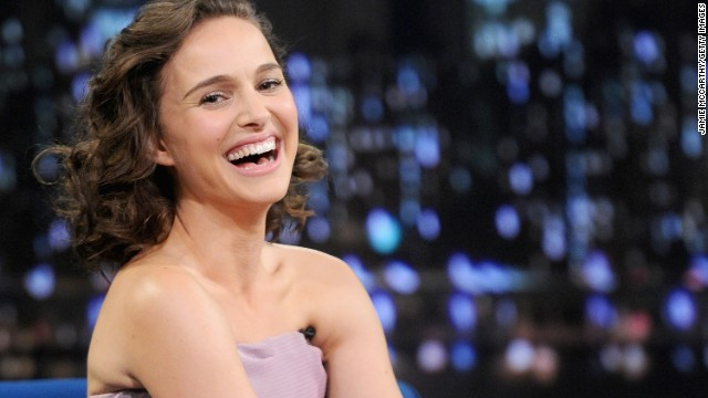 "Actress Natalie Portman was raised in a Jewish household in Long Island, New York. Now she jokes that ""like, every Jewish role comes to me."""