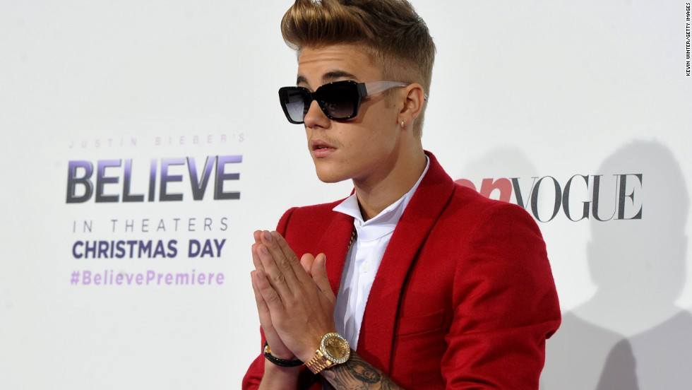 "Justin Bieber, who was arrested on Thursday, was raised in a Christian household by his evangelical mother. In a 2011 interview with Rolling Stone, Bieber said, ""I feel I have an obligation to plant little seeds with my fans. I'm not going to tell them, 'You need Jesus,' but I will say at the end of my show, 'God loves you.' """