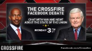 Crossfire live Facebook debate