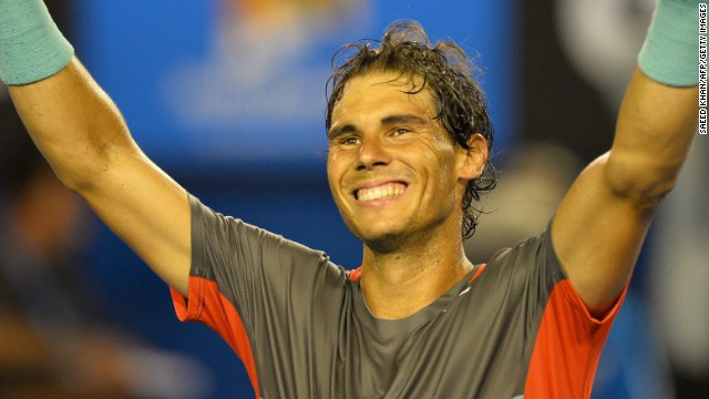 World No. 1 Rafael Nadal beat his great rival Roger Federer 7-6 (7-4) 6-3 6-3 to reach the final of the Australian Open. The Spaniard is bidding to win a 14th grand slam title and his first at Melbourne Park since 2009.