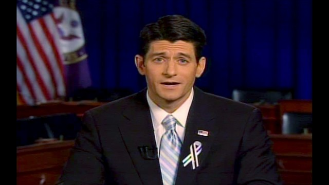 <strong>2011: Rep. Paul Ryan of Wisconsin --</strong> He was the hotshot hope of the GOP when he took the stage following President Barack Obama's State of the Union address. But the P90 X-loving, budget hawk was on the losing Romney-Ryan ticket in 2012. Ryan's been mentioned as a possible 2016 White House candidate.<!-- --> </br>