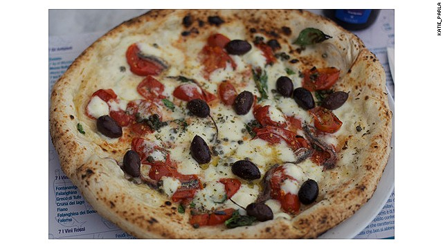"A Campanian staple such as pizza Napoletana is being reinvented with new flavors and textures. In Italy, ""pizza"" can mean anything from Easter bread to a small pie, depending on region."